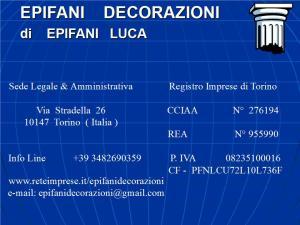 EPIFANI DECORAZIONI di Epifani Luca : (Torino) : Statistiche.